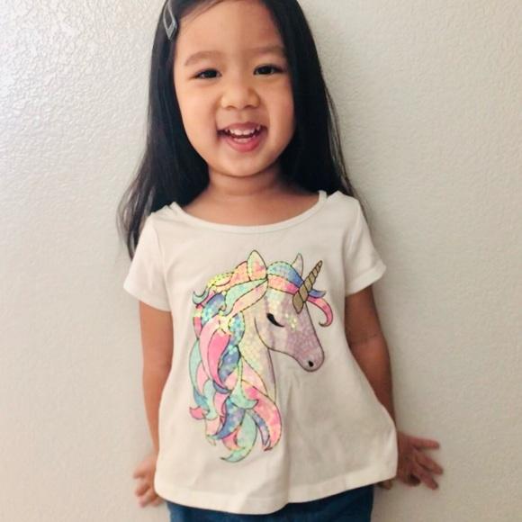 Unicorn sequin shirt